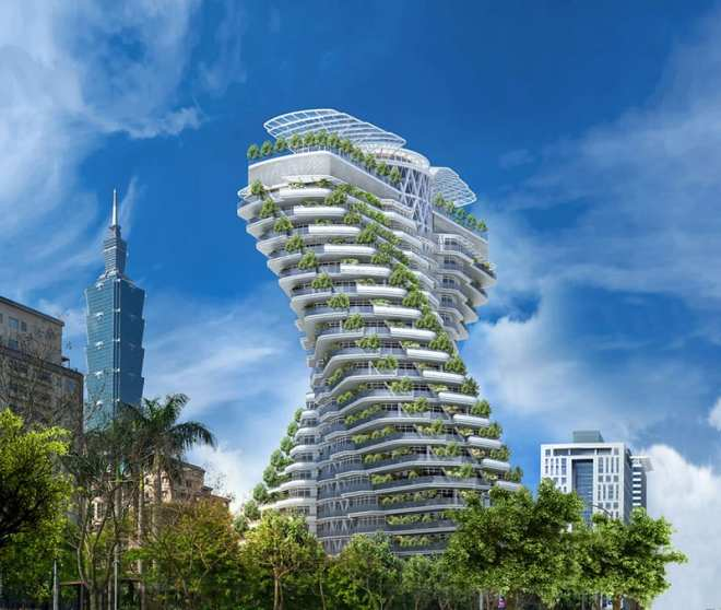 Architecture trends are constantly changing and are currently evolving toward sustainability thanks to innovative - and green focused - designers. Taipei's Agora Garden Tower goes above and beyond today's eco-conscious standards and acts as a living, breathing building.
