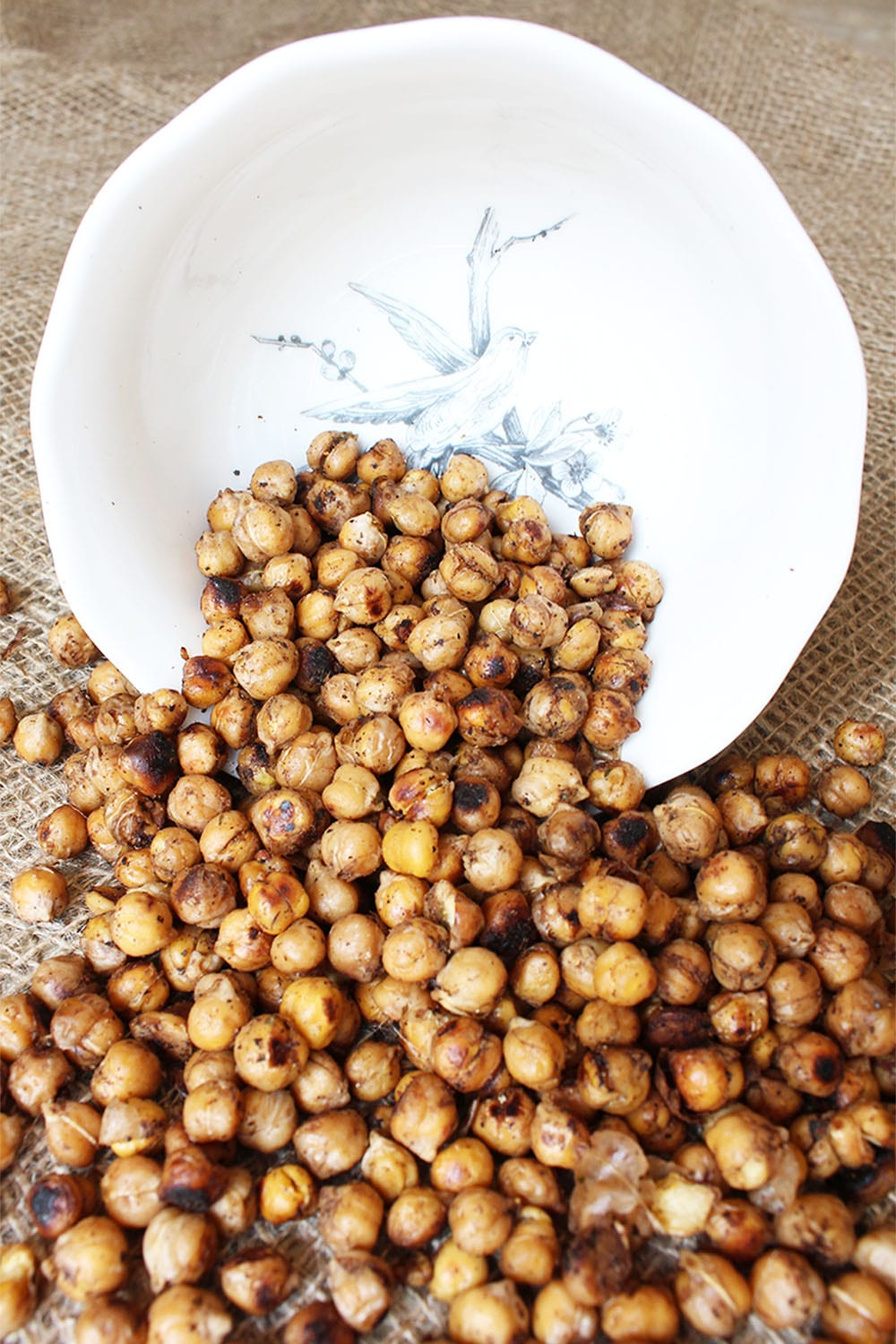 What are the best plant protein foods and just how much protein is in them? With a whopping 14.5 grams of protein per cup, chickpeas are definitely one of them. And they're so versatile! These baked balsamic chickpeas taste fantastic with pasta, rice, mashed potatoes, sprinkled on a salad or on their own as a snack!