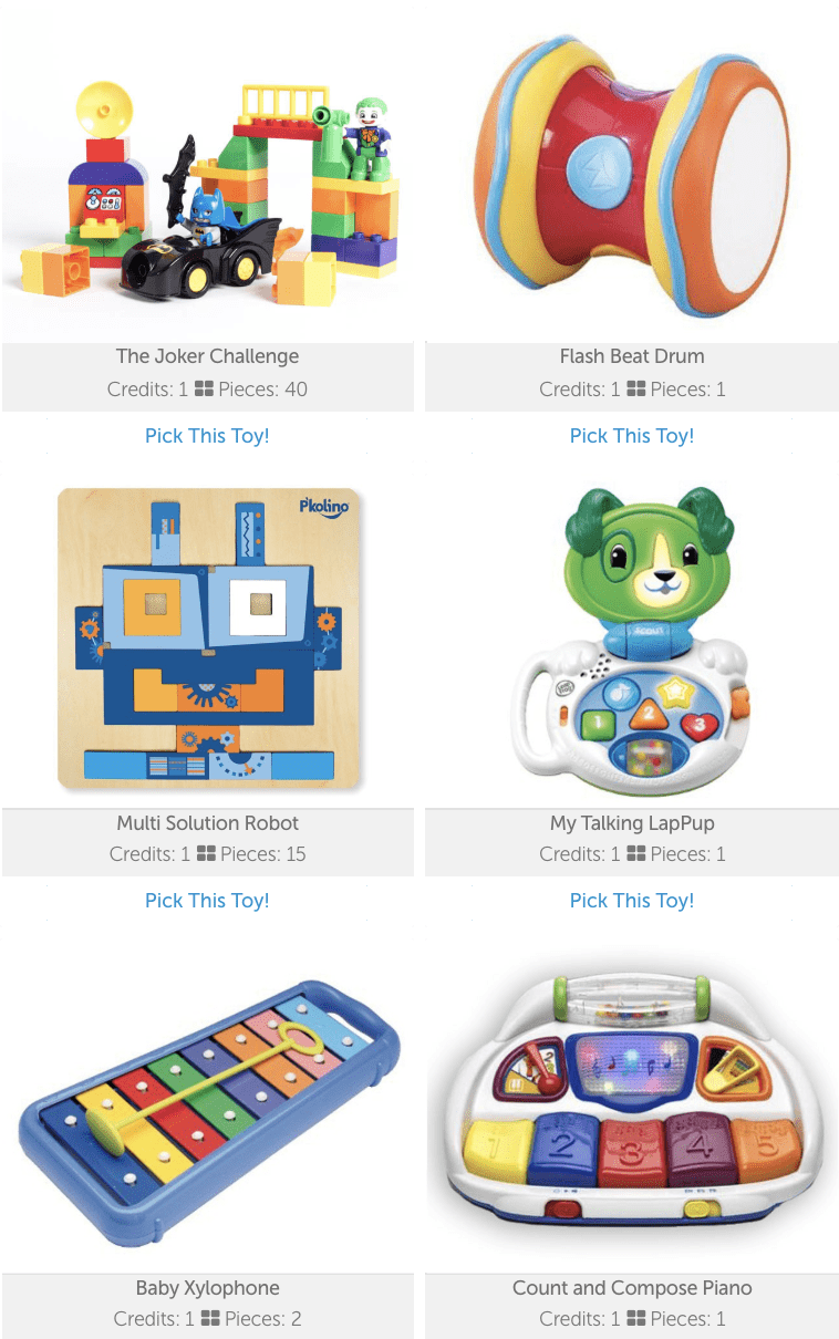 Toy share subscriptions are one of 10 current Pinterest trends that slant toward a truly inspiring ambition - being more green! Toy share subscriptions eliminate the need for brand new toys, yet the toys will still feel new to your kids. Eco-friendly - and economical!