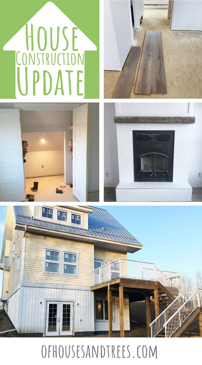 Here's an update of our eco-friendly house construction process! Complete with LED bulbs, secondhand light fixtures and cork-backed flooring. It's a treehugger's dream come true!