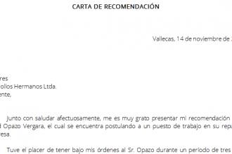 carta de referencia en ingles carta recomendacin academica master