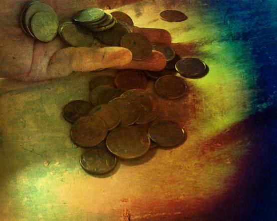 As moedas tem muita força para chamar a prosperidade em sentido de dinheiro! Foto: Rosea Bellator.