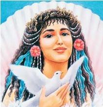 Afrodite, desenho de Hranajanto, o Oraculo da Deusa.