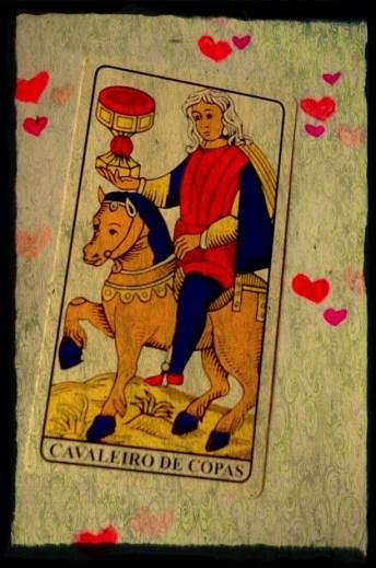 cavaleio de copas - encantamento de amor
