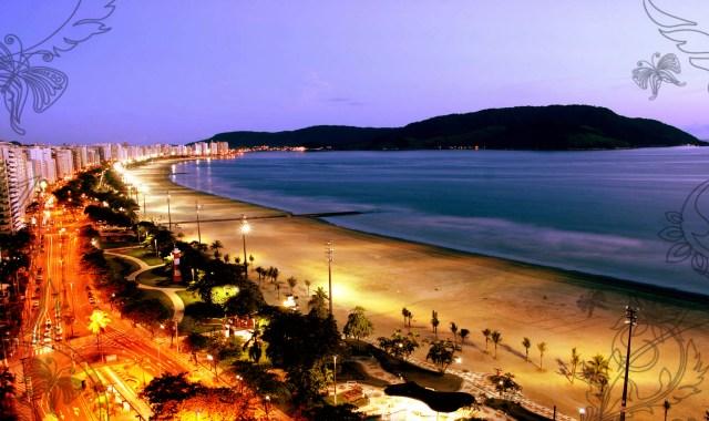 praia de santos - culto a natureza