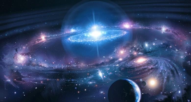 Imagem: Revista UFO. A Grande Consciência Divina. O Universo.
