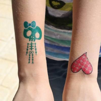 Tatuagens Aniversários Algarve | Oficina de Sonhos - Animação e Decoração de Eventos Algarve