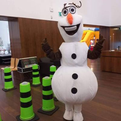 Mascote Olaf | Oficina de Sonhos - Animação e Decoração de Eventos Algarve