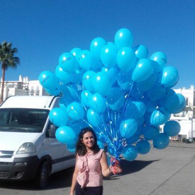 Balões com Hélio | Oficina de Sonhos - Animação e Decoração de Eventos Algarve