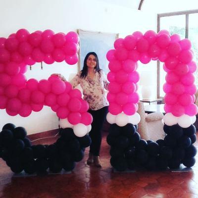 Decoração Balões Nº Gigantes | Oficina de Sonhos - Animação e Decoração de Eventos Algarve