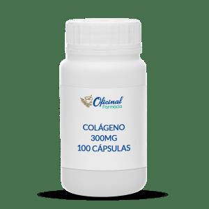 Colágeno 300mg 100 cápsulas - Beleza