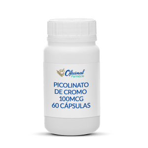 Picolinato de Cromo 100mcg