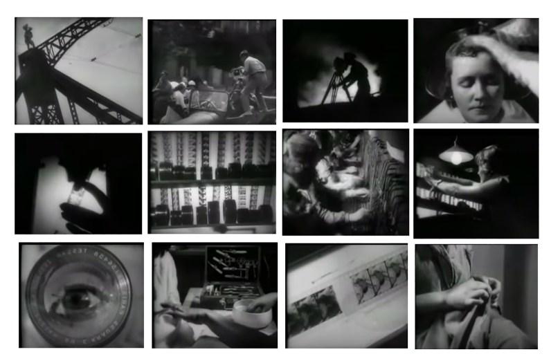 El hombre de la cámara. Vertov