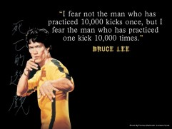 Write Like Bruce Lee