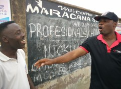 Operation Fix Up Maracana Stadium (105,000 Naira Raised)