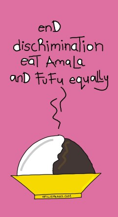 Amala and Fufu Tensions Boil Over In #Nigeria