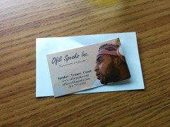 My Old Business Card