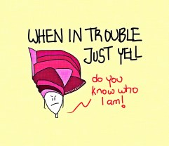 When In Trouble…Just Yell