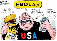 2014: The Year Of #Ebola Fear