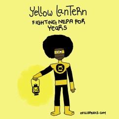 Forget Green Lantern, #Nigeria Has Yellow Lantern