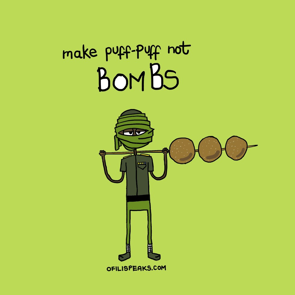 puff puff not bombs