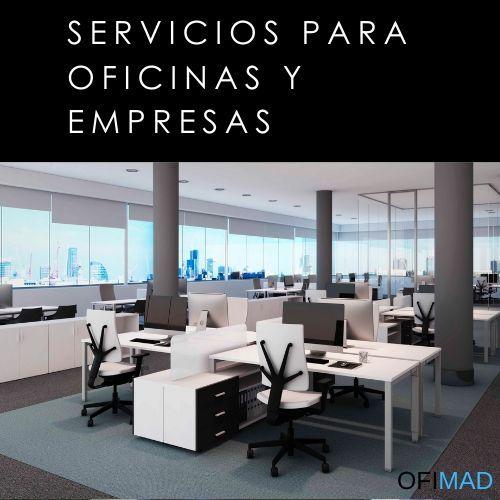Servicios para oficinas y empresas en Madrid