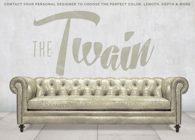 Twain Wide Tufted Chesterfield Sofa