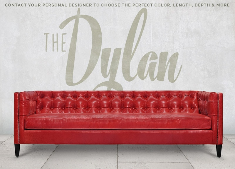 Dylan Mid-Century Square Tufted Sofa