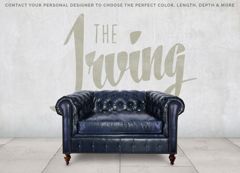 Irving Traditional Chesterfield Chair