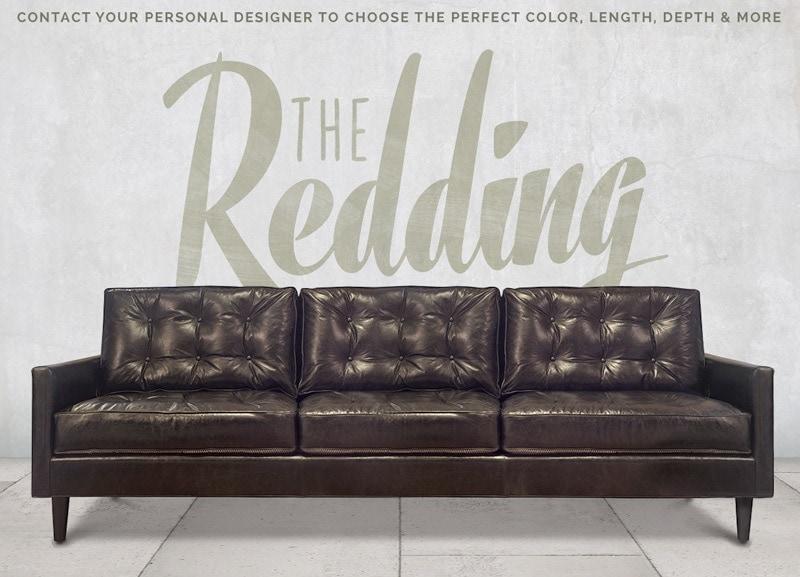 Redding Tufted Mid-Century Sofa