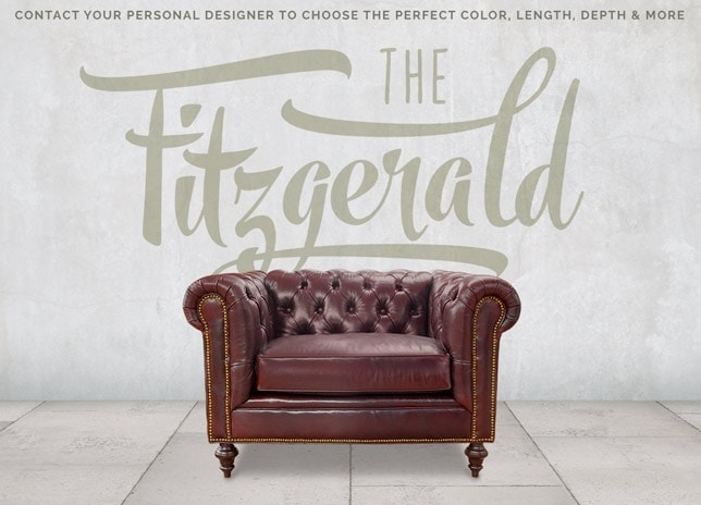 Fitzgerald Vintage Leather Chair