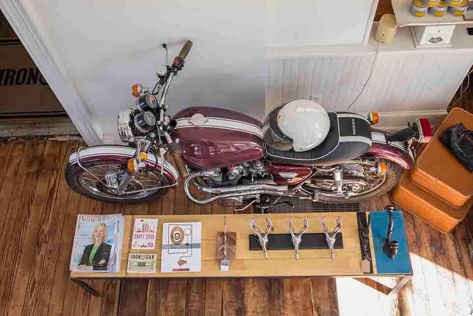 Vintage Honda CB450
