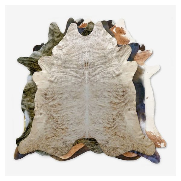 Natural Brindle Cowhide