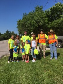 Earth Day Girl Scouts and Kiwanis 2017