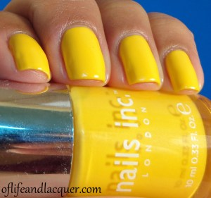 Nails Inc. Carnaby Stree Swatch