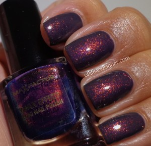 China Glaze Jungle Queen Max Factor Fantasy Fire