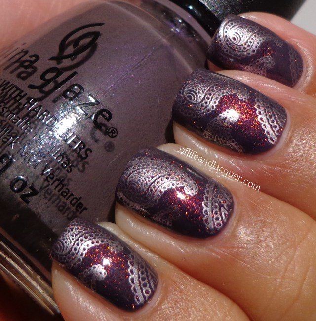 China Glaze Jungle Queen Max Factor Fantasy Fire BM 315