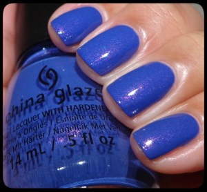 China Glaze Fancy Pants Swatch
