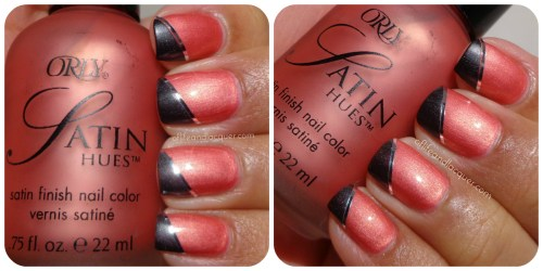 Orly Surreal Satin Nail Art