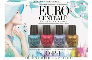 OPI Euro Centrale Collection & Giveaway