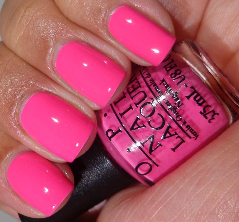 Hot Pink Gel Polish: OPI Neon Revolution Minis