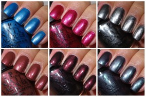 OPI San Francisco Collection – Shimmers