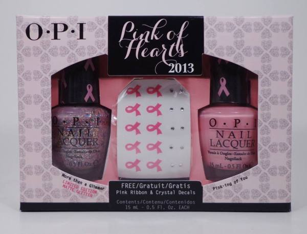 OPI Pink Of Hearts Duo