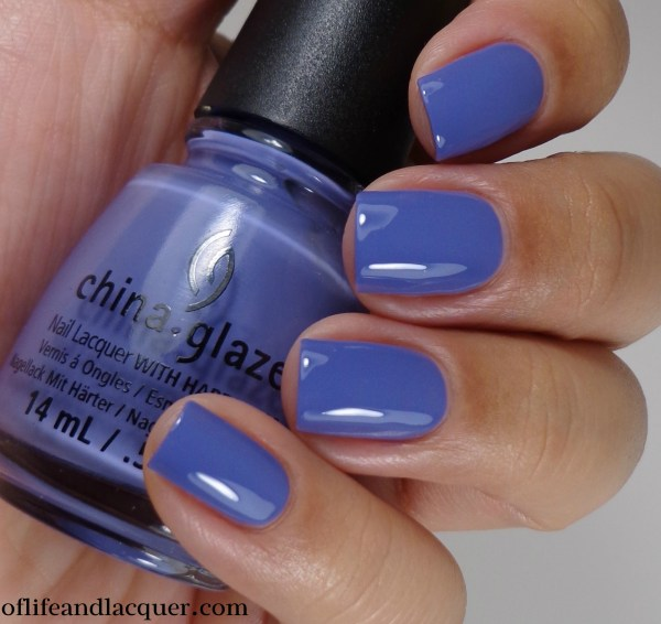 China Glaze What A Pansy 2a