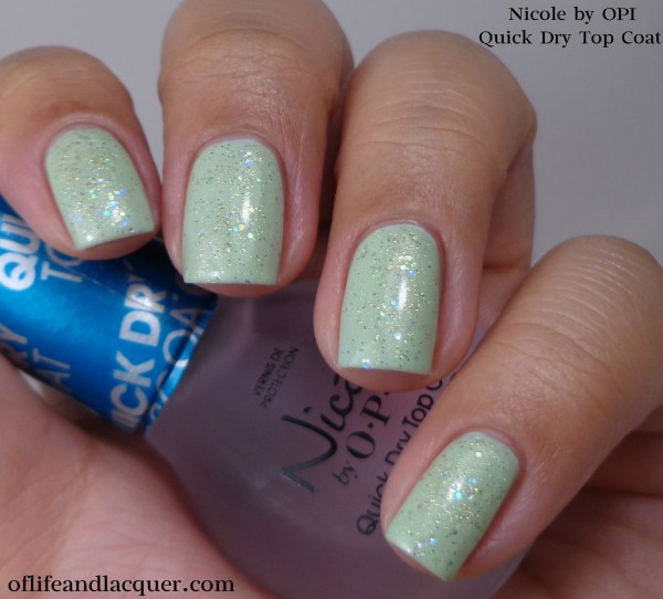 Nicole by OPI Quick Dry Top Coat 1a