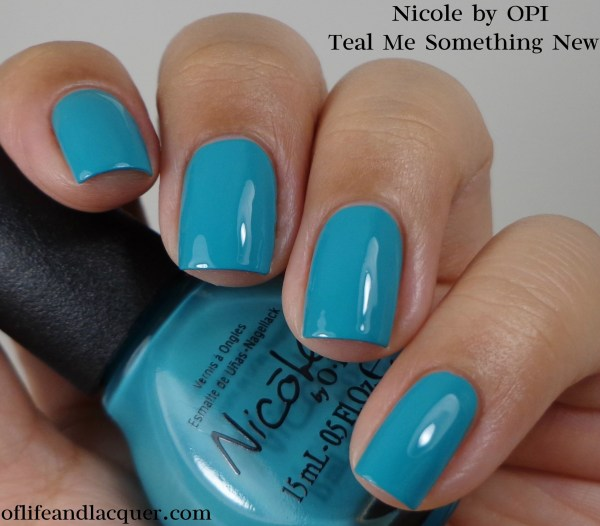 Nicole by OPI Teal Me Something New 1a