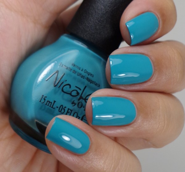 Nicole by OPI Teal Me Something New 2