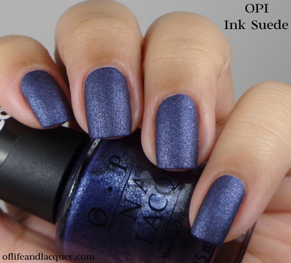 OPI Ink Suede 1a