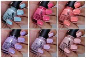 China Glaze City Flourish Collection Spring 2014 – Peonies & Park Ave