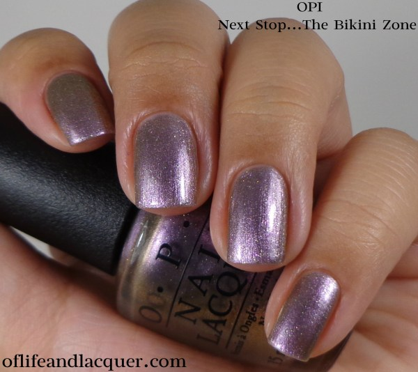 OPI Next Stop...The Bikini Zone 1a